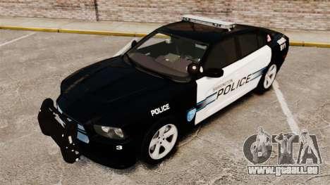 Dodge Charger RT 2012 Police [ELS] pour GTA 4 est une vue de l'intérieur
