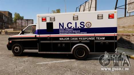 Brute NCIS [ELS] für GTA 4 linke Ansicht