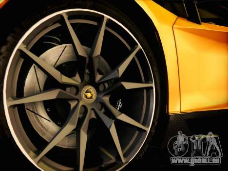 Lamborghini Aventador LP720 für GTA San Andreas Rückansicht
