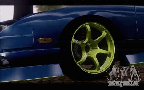 Nissan 240sx drift für GTA San Andreas zurück linke Ansicht