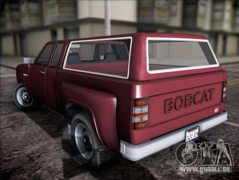 Bobcat insipide XL de GTA V pour GTA San Andreas laissé vue