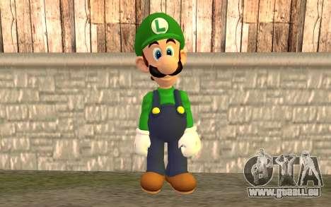 Luigi pour GTA San Andreas