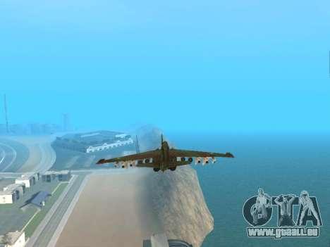 Su 25 pour GTA San Andreas vue de côté