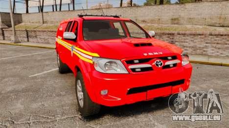 Toyota Hilux FDNY [ELS] pour GTA 4
