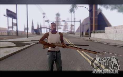 Mousquet pour GTA San Andreas troisième écran
