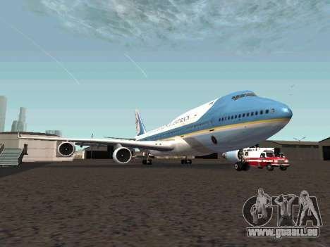 Boeing-747-400 Airforce one pour GTA San Andreas
