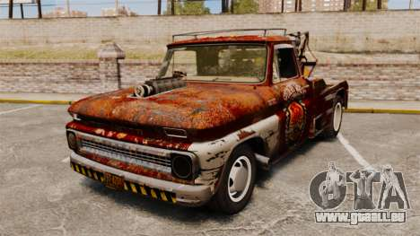Chevrolet Tow truck rusty Rat rod pour GTA 4