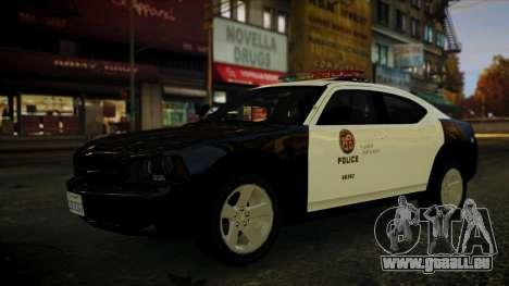 Dodge Charger LAPD 2008 für GTA 4 rechte Ansicht