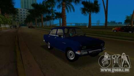 AZLK 2140 pour GTA Vice City vue arrière