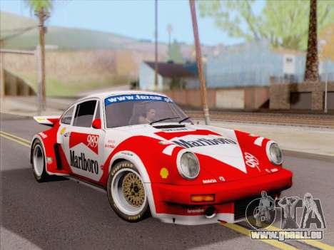 Porsche 911 RSR 3.3 skinpack 4 pour GTA San Andreas vue de droite