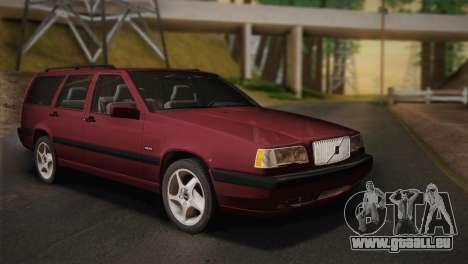 Volvo 850 Estate Turbo 1994 pour GTA San Andreas