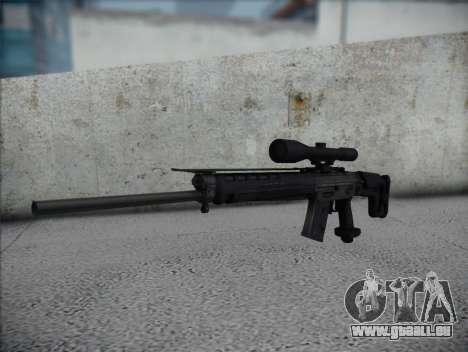 Fusil de sniper HD pour GTA San Andreas
