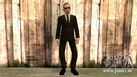 Smith aus dem Film matrix für GTA San Andreas