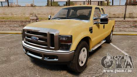 Ford F-350 Super Duty 2011 pour GTA 4