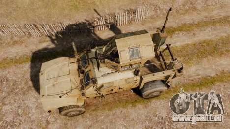 Oshkosh M-ATV pour GTA 4 est un droit