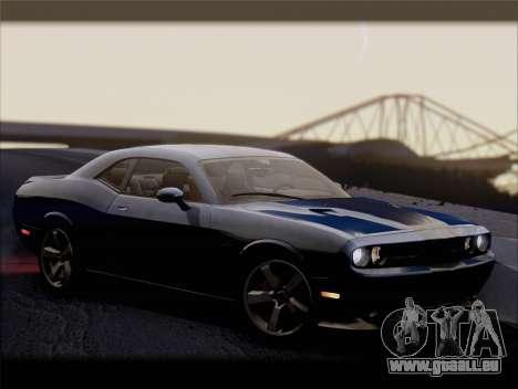 Dodge Challenger SRT8 2012 HEMI für GTA San Andreas obere Ansicht