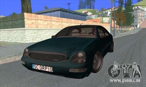 Ford Scorpio MkII V8 pour GTA San Andreas