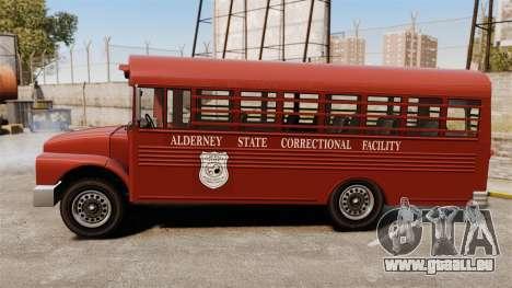 GTA IV TLAD Prison Bus pour GTA 4 est une gauche