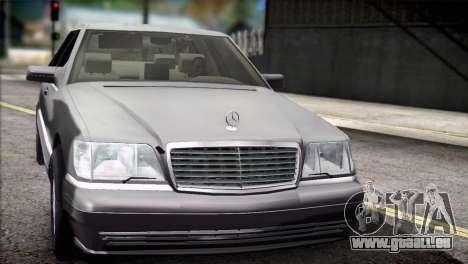 Mercedes-Benz S600 V12 V1.2 für GTA San Andreas