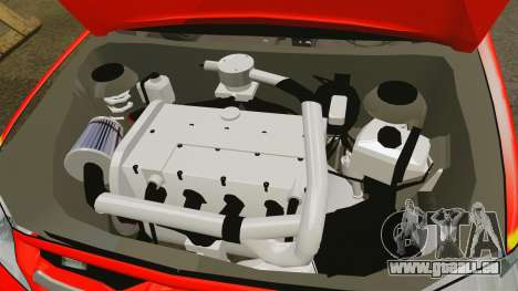 Toyota Hilux British Rapid Fire Cover [ELS] pour GTA 4 est une vue de l'intérieur