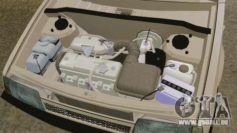 VAZ 2109 leichte Tuning für GTA 4 Rückansicht
