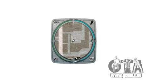 Cadre pour radar pour GTA 4