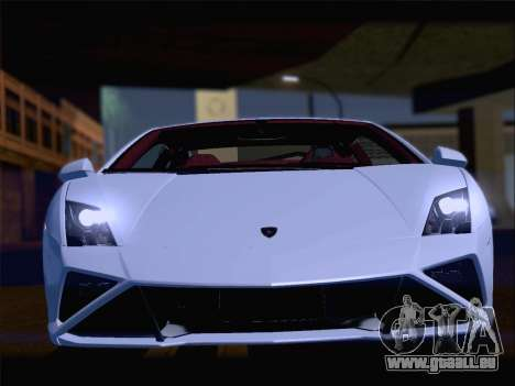 Lamborghini Gallardo 2013 pour GTA San Andreas moteur