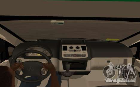 Mercedes-Benz Vito Ambulancia ACHS 2012 für GTA San Andreas zurück linke Ansicht