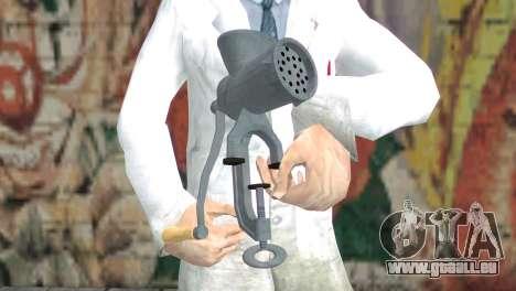 Hachoir à viande pour GTA San Andreas troisième écran