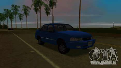 Daewoo Cielo pour une vue GTA Vice City de la droite