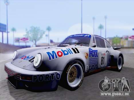 Porsche 911 RSR 3.3 skinpack 1 für GTA San Andreas linke Ansicht