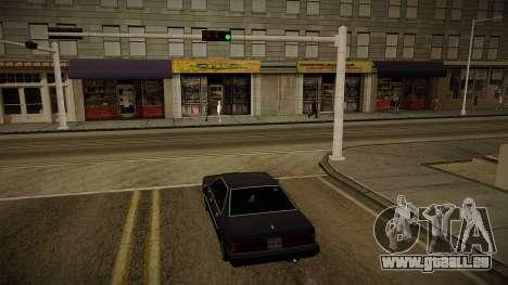 GTA HD Mod 3.0 pour GTA San Andreas deuxième écran