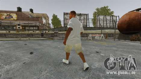 Franklin Clinton v3 für GTA 4 dritte Screenshot