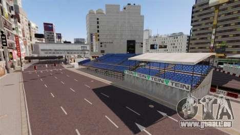 Emplacement de Shibuya pour GTA 4 troisième écran