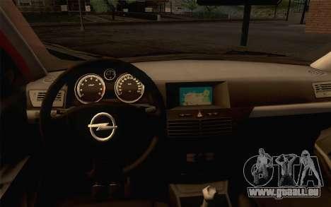 Opel Astra H für GTA San Andreas rechten Ansicht