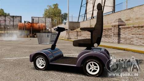 Funny Electro Scooter pour GTA 4 est une gauche