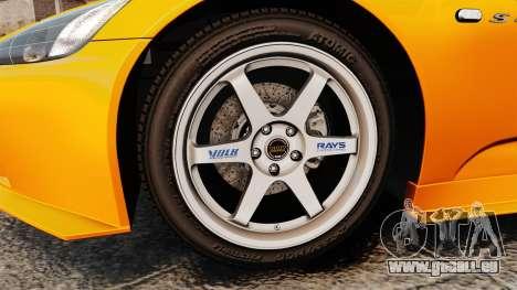 Honda S2000 (AP1) pour GTA 4 Vue arrière