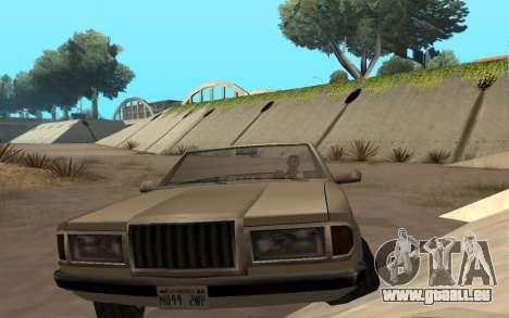 Admiral Cabrio für GTA San Andreas rechten Ansicht