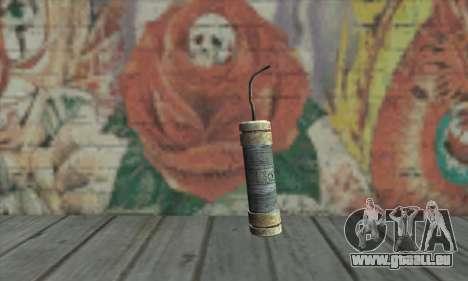 Un bâton de dynamite de la Metro 2033 pour GTA San Andreas