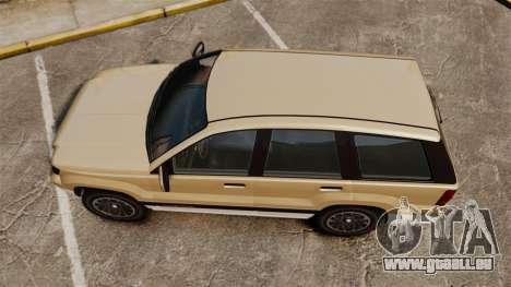 GTA V Canis Seminole für GTA 4 rechte Ansicht