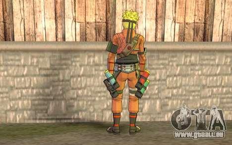 Naruto Rajdžinu pour GTA San Andreas deuxième écran