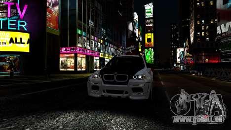 BMW X6 M Hamann 2013 Vossen für GTA 4 Innen