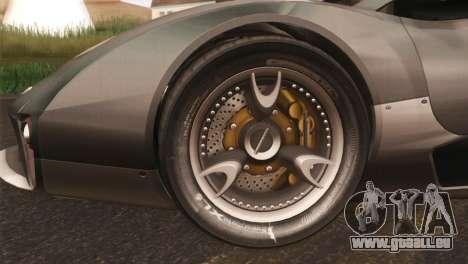 SuperMotoXL CONXERTO v2.0 für GTA San Andreas linke Ansicht