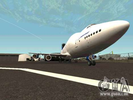 Boeing-747 Dream Lifter pour GTA San Andreas