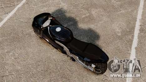 GTA IV TLAD Hakuchou v2 pour GTA 4 Vue arrière de la gauche