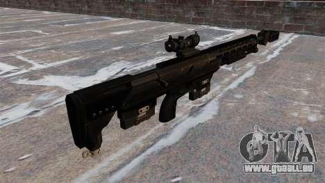 Fusil de précision précision DSR DSR GmbH-50 pour GTA 4 secondes d'écran