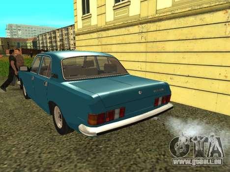 Volga GAZ 24-10 für GTA San Andreas rechten Ansicht