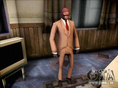 Espion de Team Fortress 2 pour GTA San Andreas deuxième écran