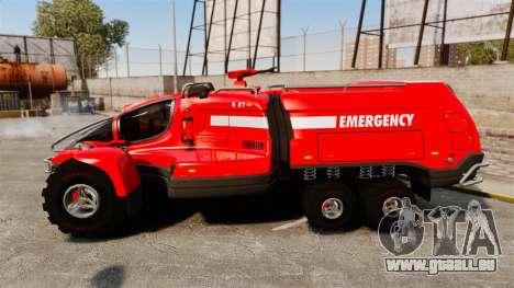 Pro Track SR2 Firetruck [ELS] für GTA 4 linke Ansicht