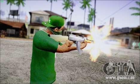 Lamar Davis GTA V pour GTA San Andreas deuxième écran